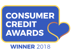Consumer Credit Awards - Best Car Finance Provider 2018